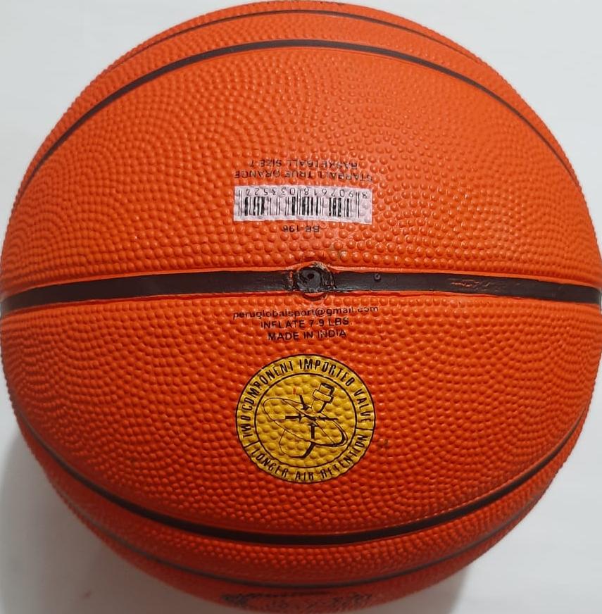 Pelota de baloncesto STARBALL NARANJA VERDADERA tamaño-7